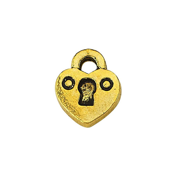Luzyo Charm - 3D Locked Heart
