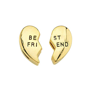 true - Slider Charm - BFF Gold