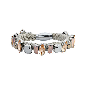 true - MoonBug Bracelet - Gris
