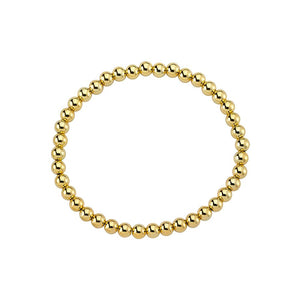 true - GZ Goldbead Bracelet - 5 mm
