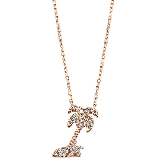 SilverDream Necklace 925 - Rose Palm