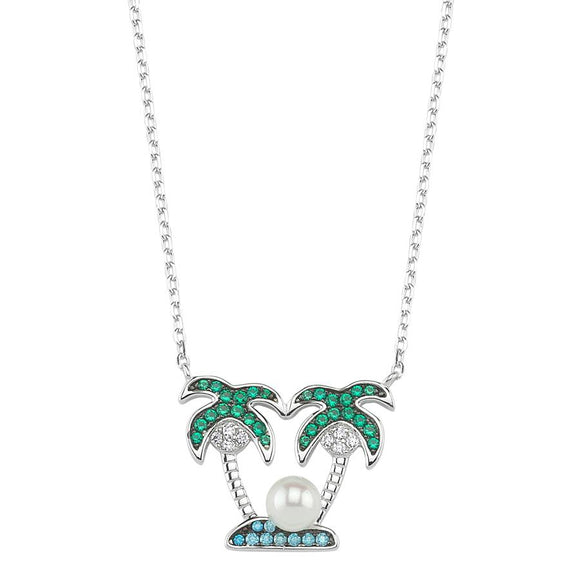 SilverDream Necklace 925 - Island