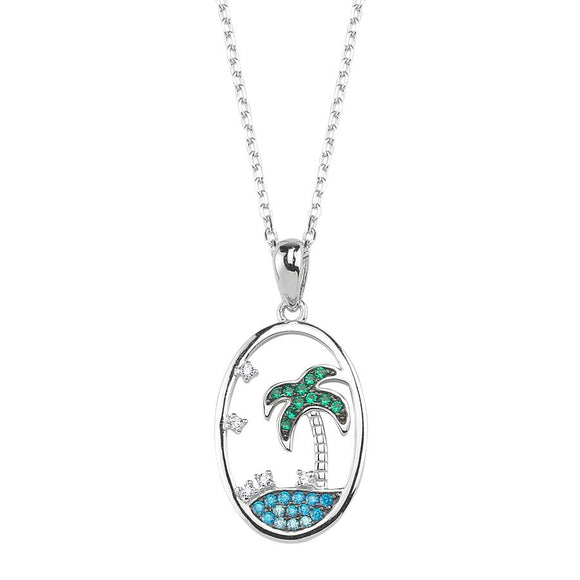 SilverDream Necklace 925 - Palm