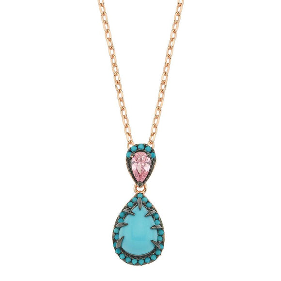 OceanView Necklace 925