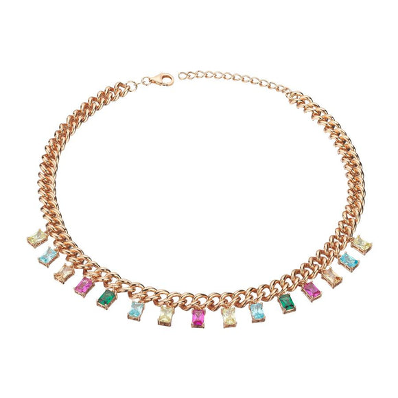 Rainbow Necklace 925