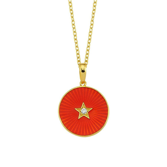 Amazing Star Necklace - 925