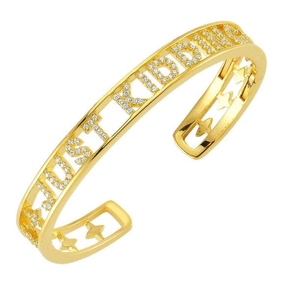 Cuff Just Kidding - Gold - 925