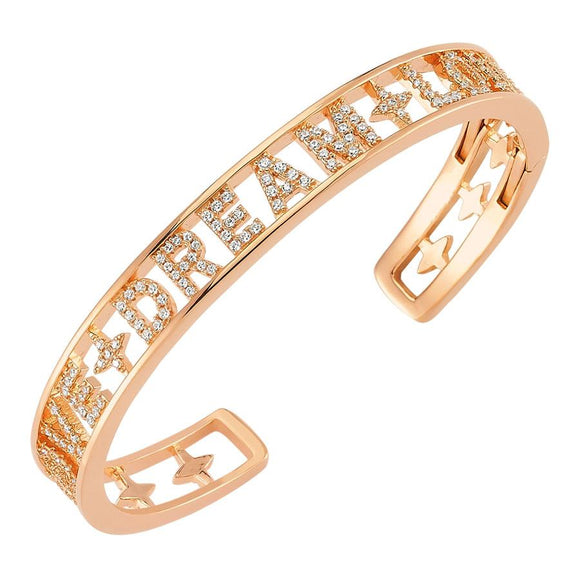 Cuff Love Dream - Rose Gold - 925