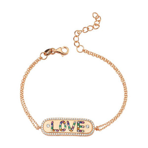 true - Love Bracelet - Colors - 925