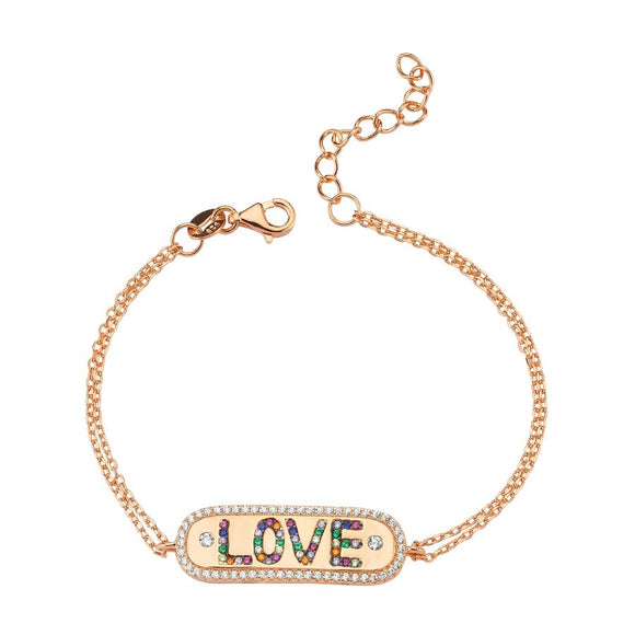 Love Bracelet - Colors - 925