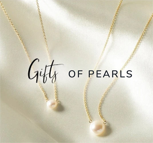gifts of pearls