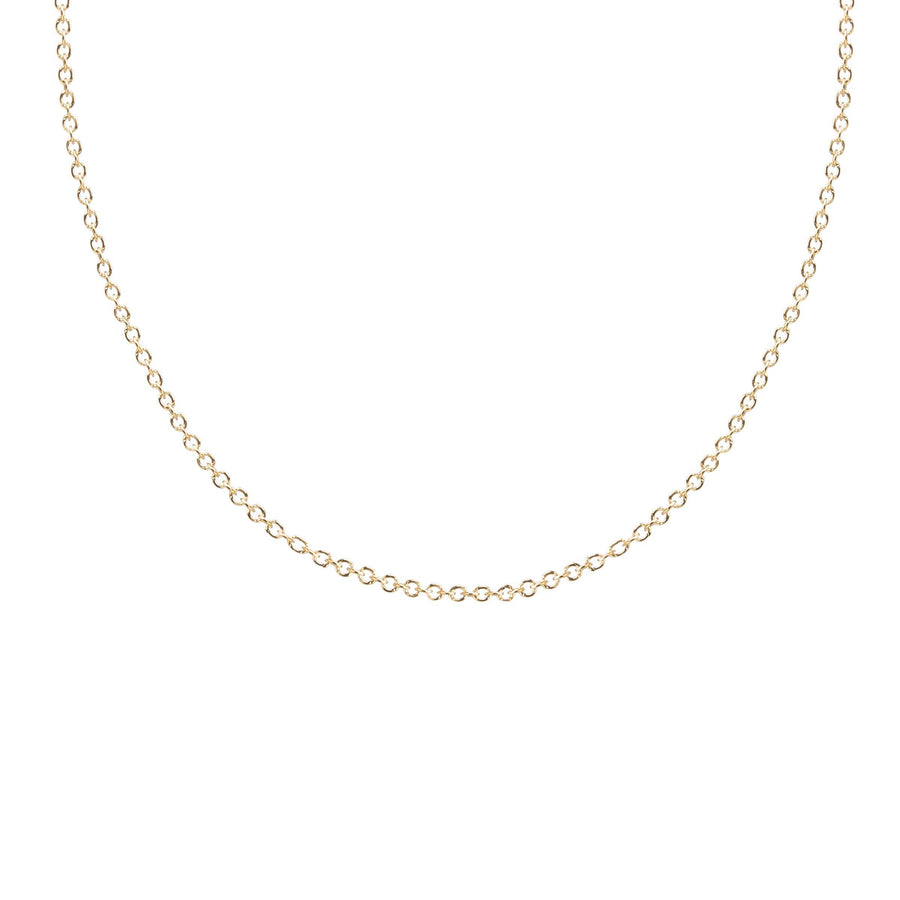 superfine chain necklace