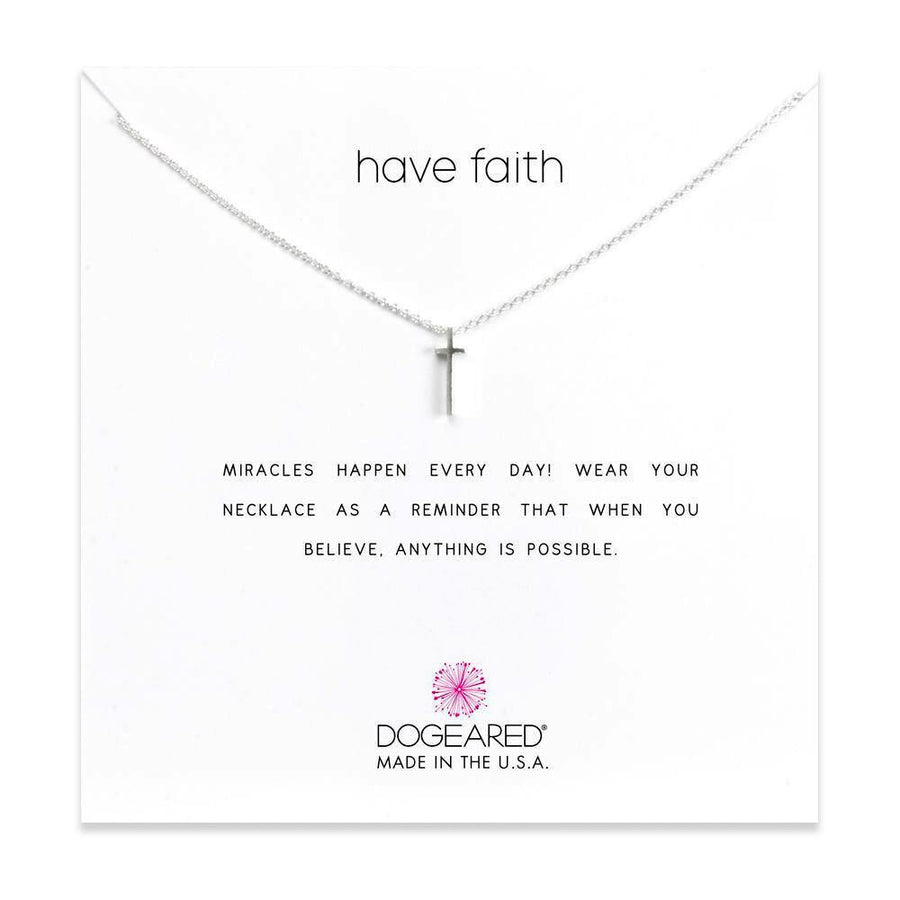 have  faith necklace,