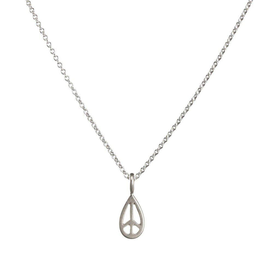 maya angelou peace, my brother necklace
