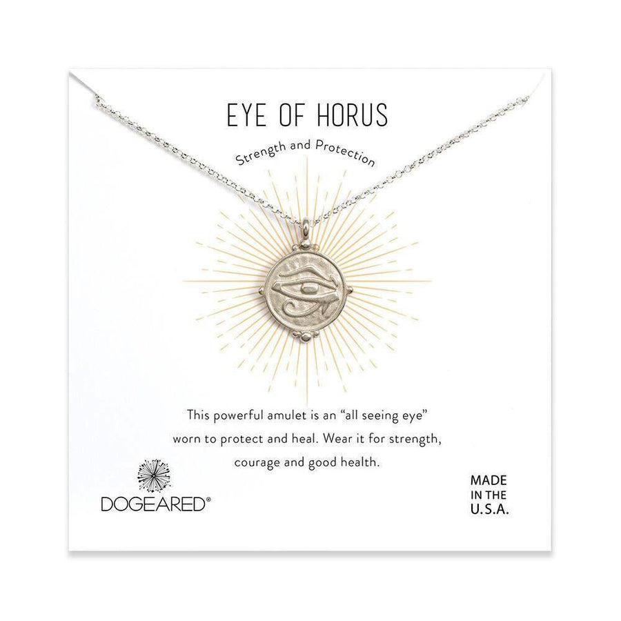 eye of horus coin necklace