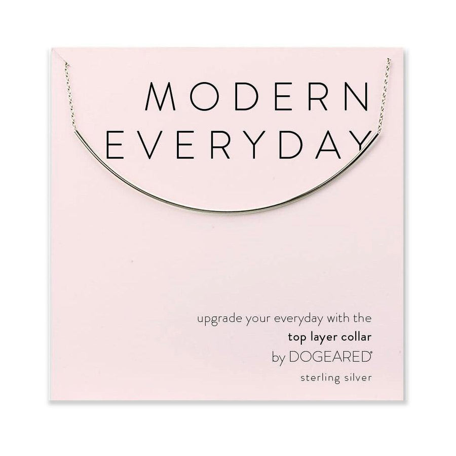 modern everyday bar choker