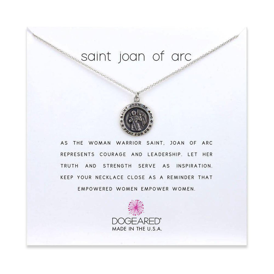 saint joan of arc necklace