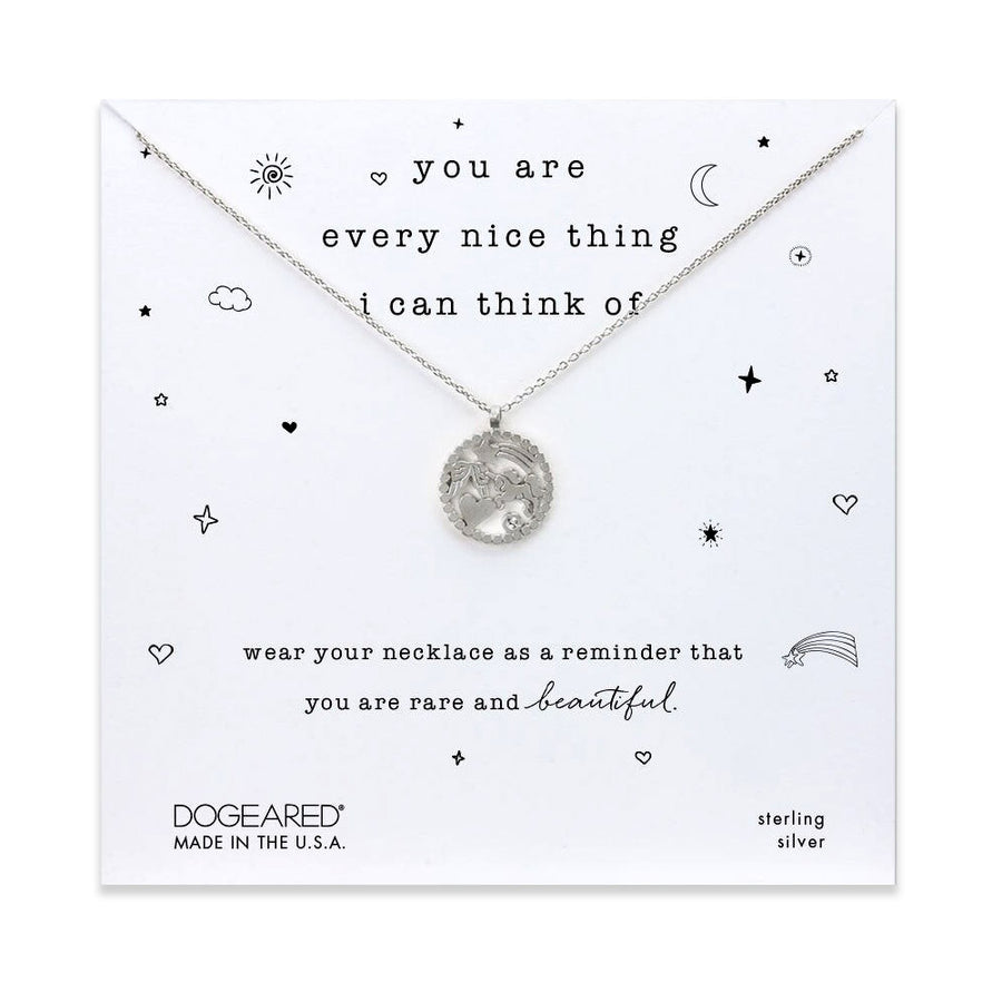 you are everything nice magical icons necklace
