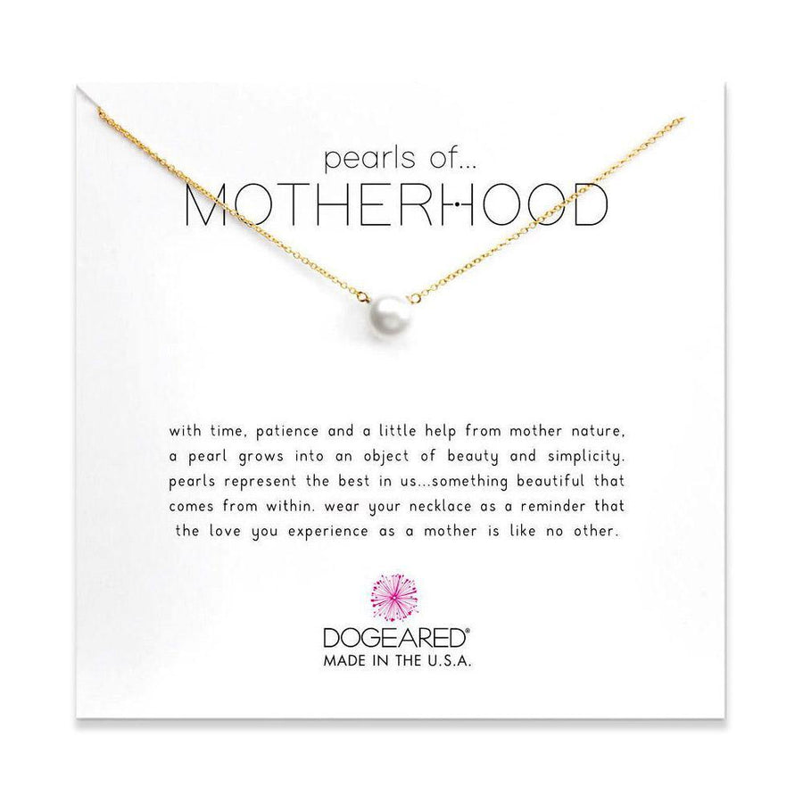 large pearls of motherhood necklace