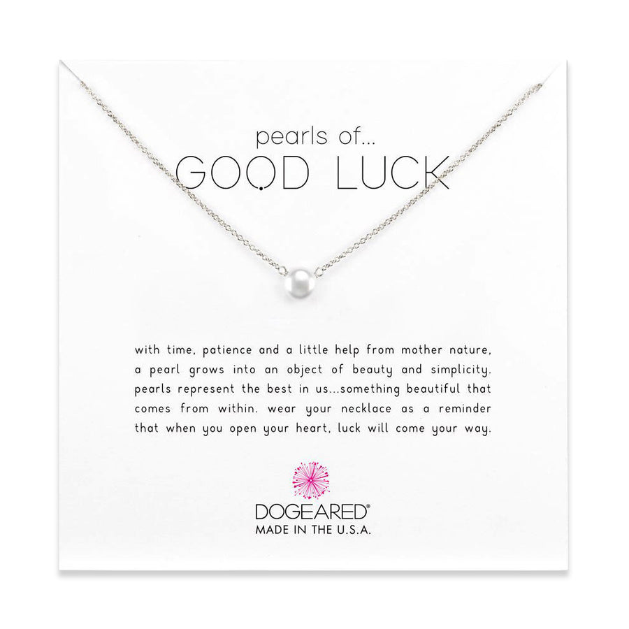 pearls of good luck small pearl necklace