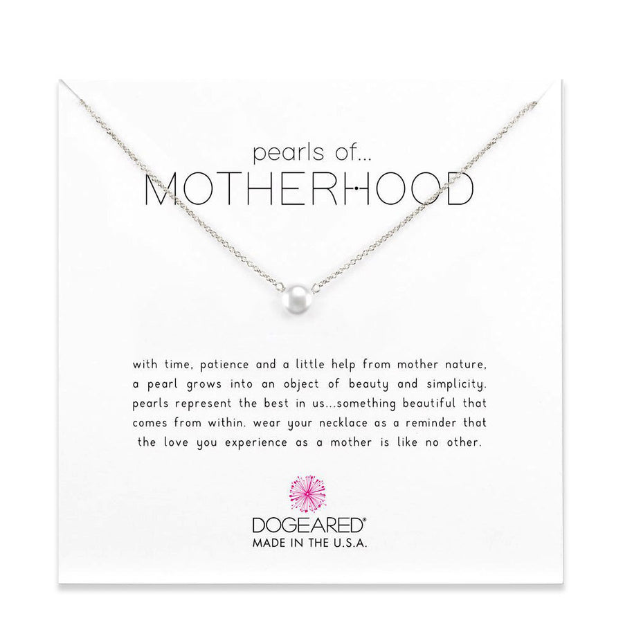 pearls of motherhood small pearl necklace