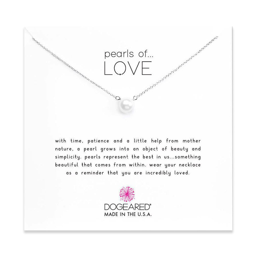 pearls of love large white pearl necklace