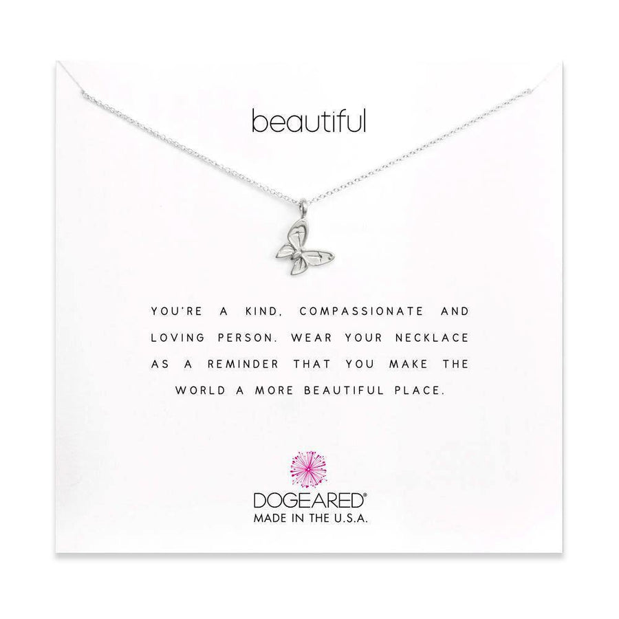 beautiful enchanted butterfly necklace