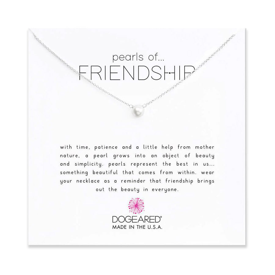pearls of friendship small white pearl necklace