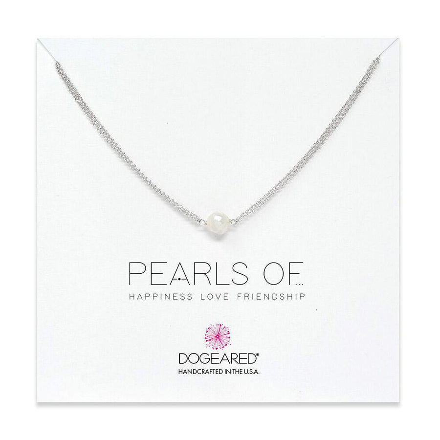 double chain large pearl