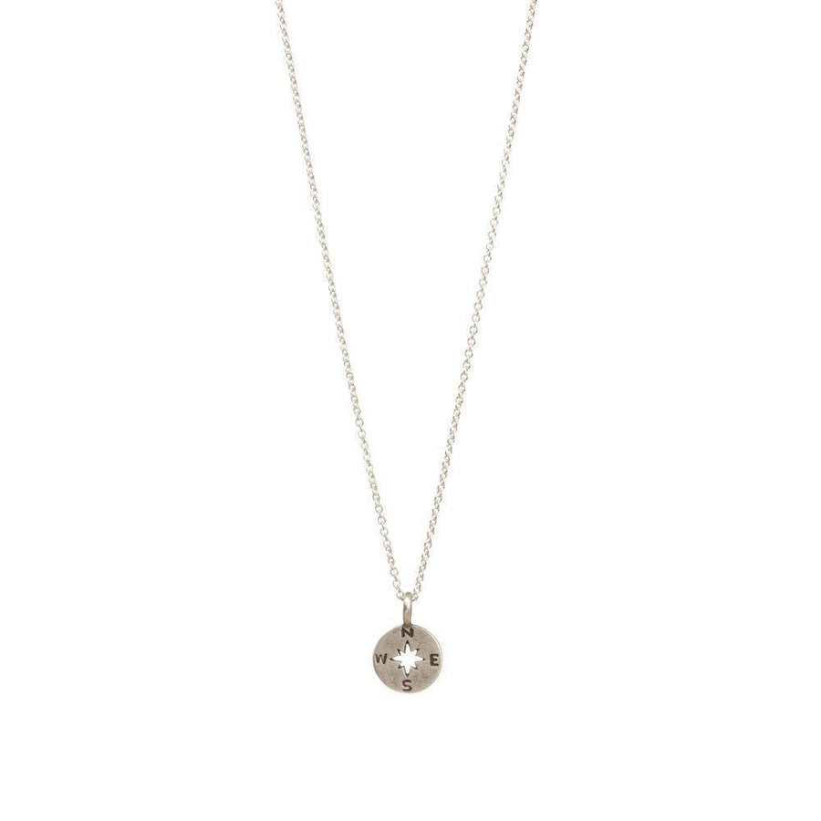 happy graduation 2020 compass charm necklace