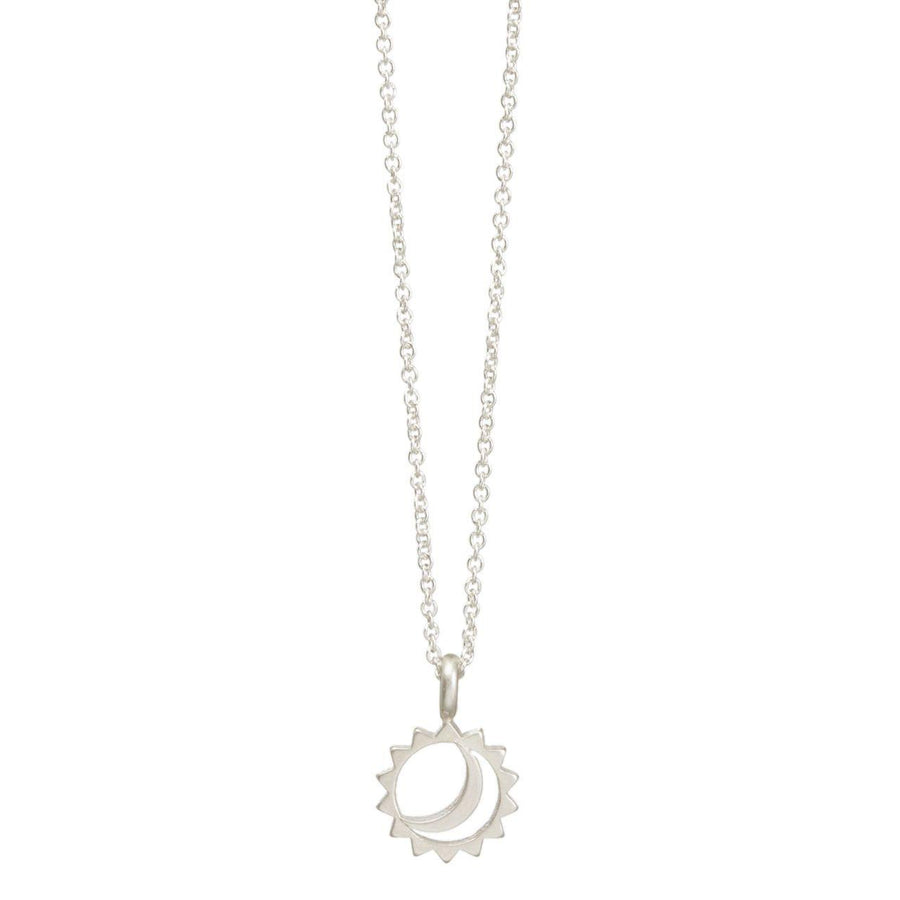 New times sun & moon necklace