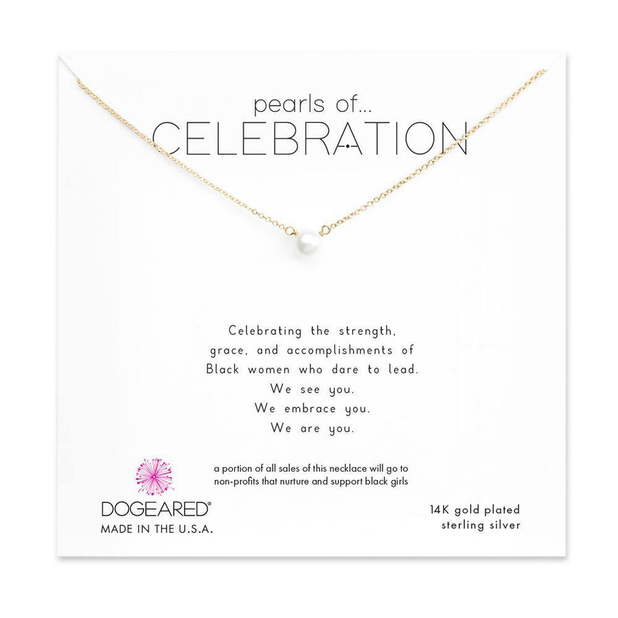 pearls of celebration small white pearl necklace
