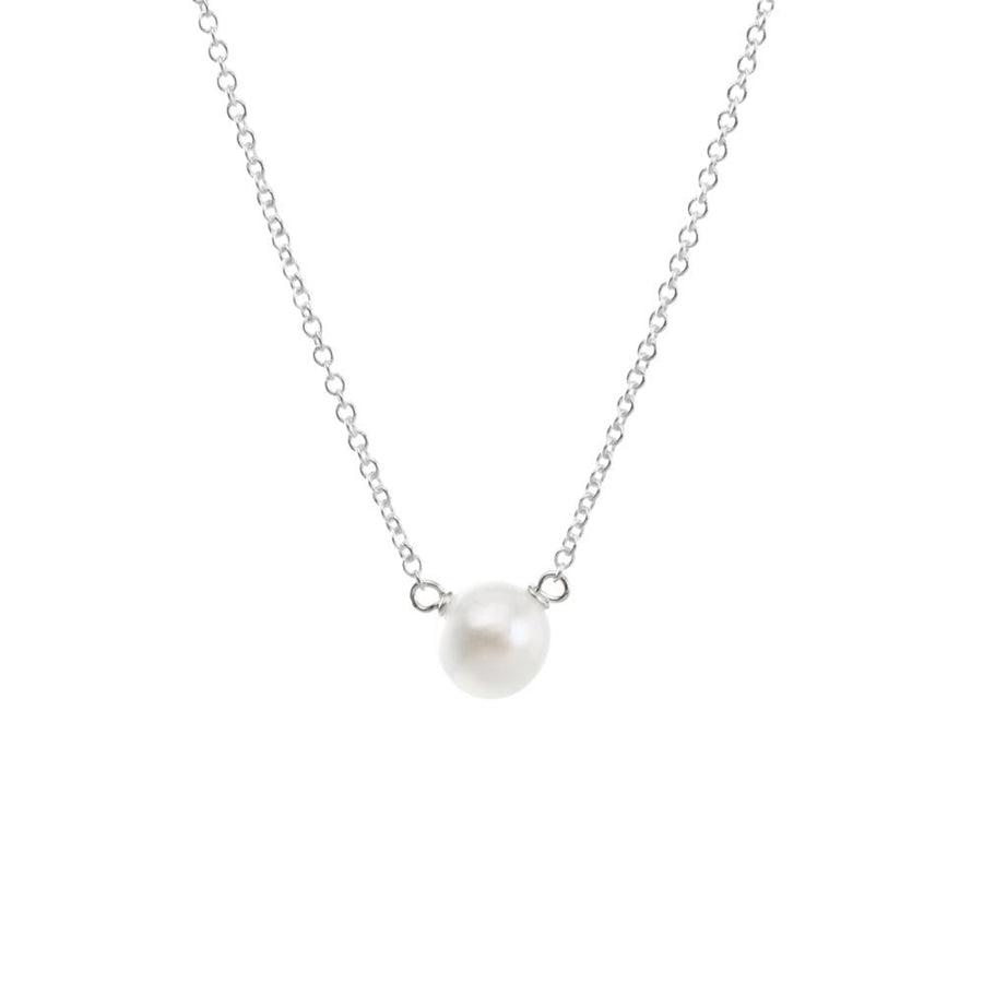 pearls of success small white pearl necklace