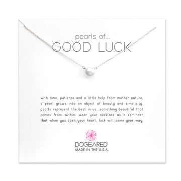 pearls of good luck large pearl necklace