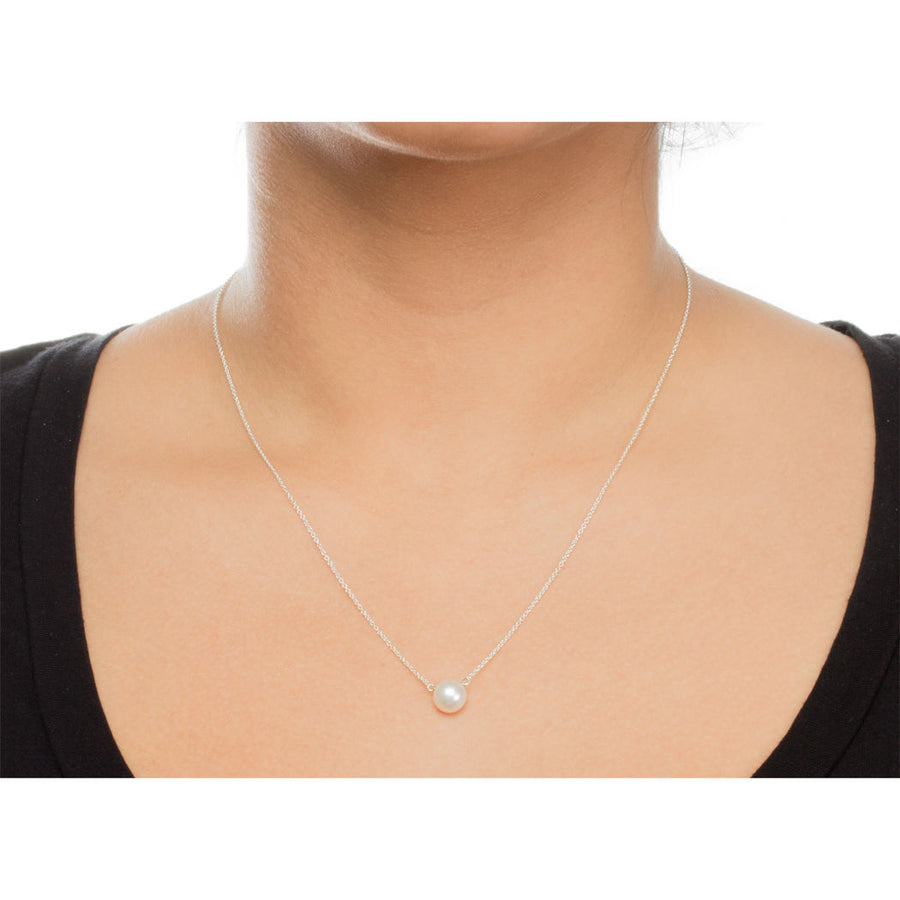 pearls of friendship large white pearl necklace