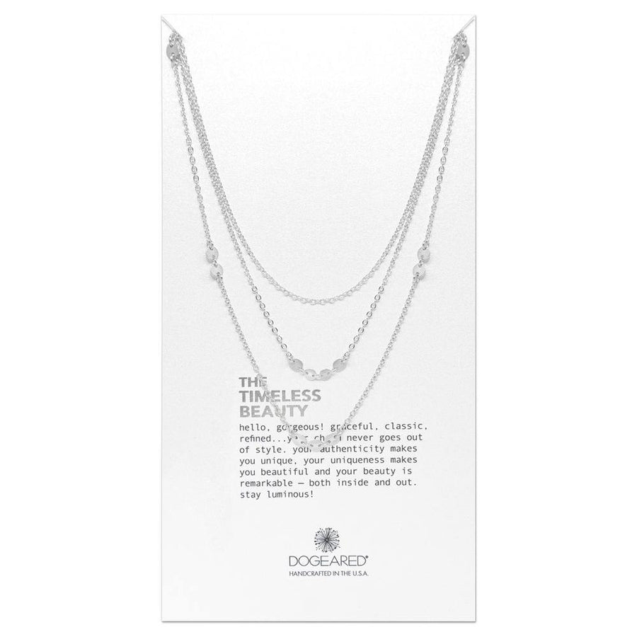 timeless beauty triple chain