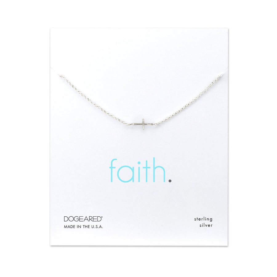 faith cross bracelet