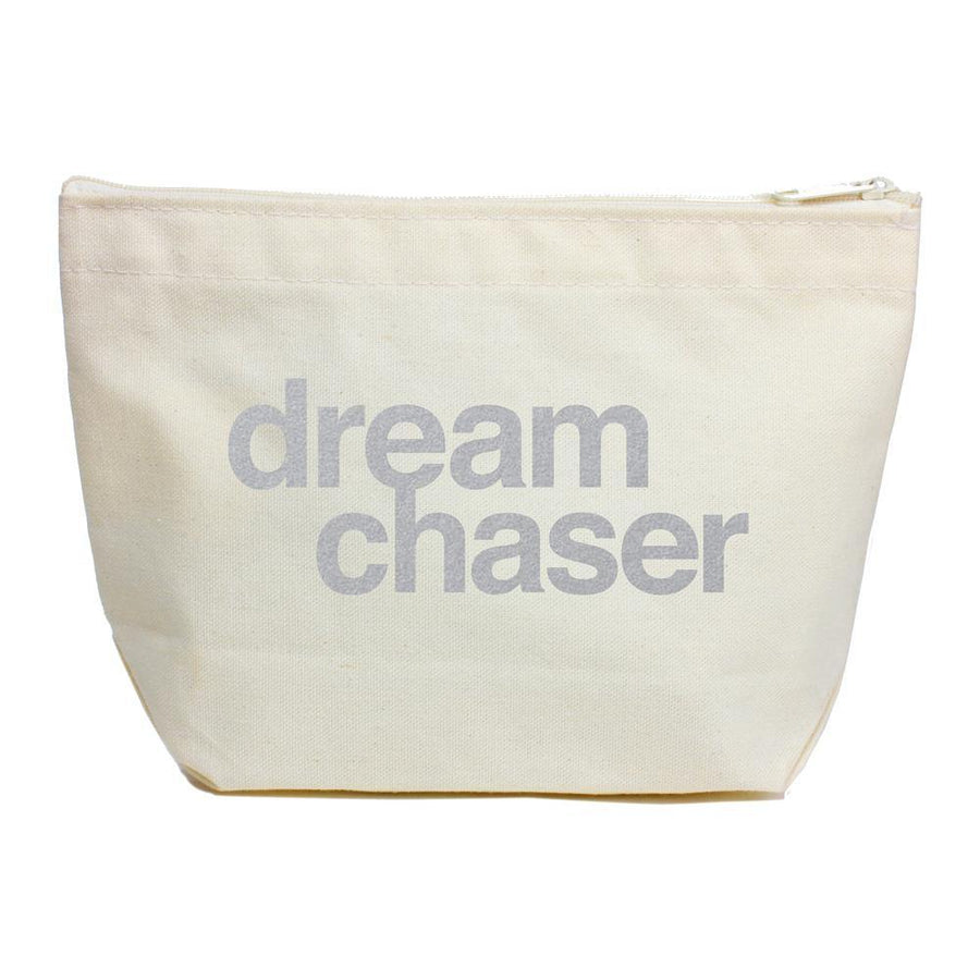 dream chaser silver-foiled lil' zip
