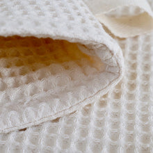 Load image into Gallery viewer, Organic Cotton Waffle Wash Mitt