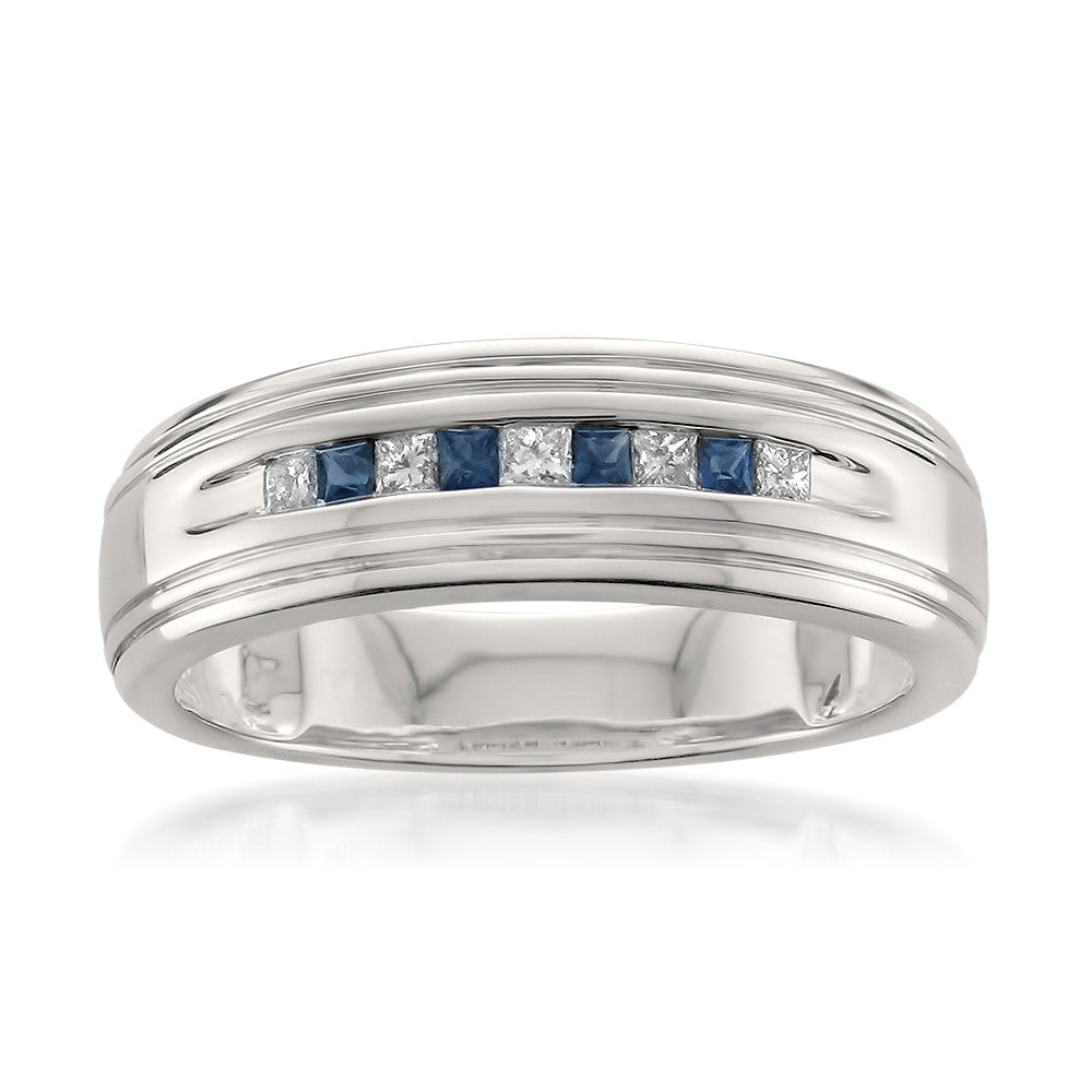 ring h sapphire three product sterling gold type mens samuel l stone black number webstore stud silver jewellery