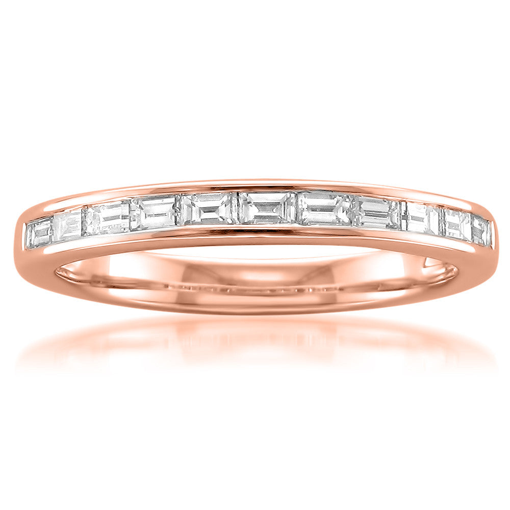 at for white full wedding calculated shipping her checkout gold milgrain baguette band diamond sku ring stacked rings eternity