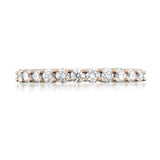 14k Rose Gold 11-Stone Round Diamond Bridal Wedding Band Ring (1/2 cttw, H-I, SI1-SI2)