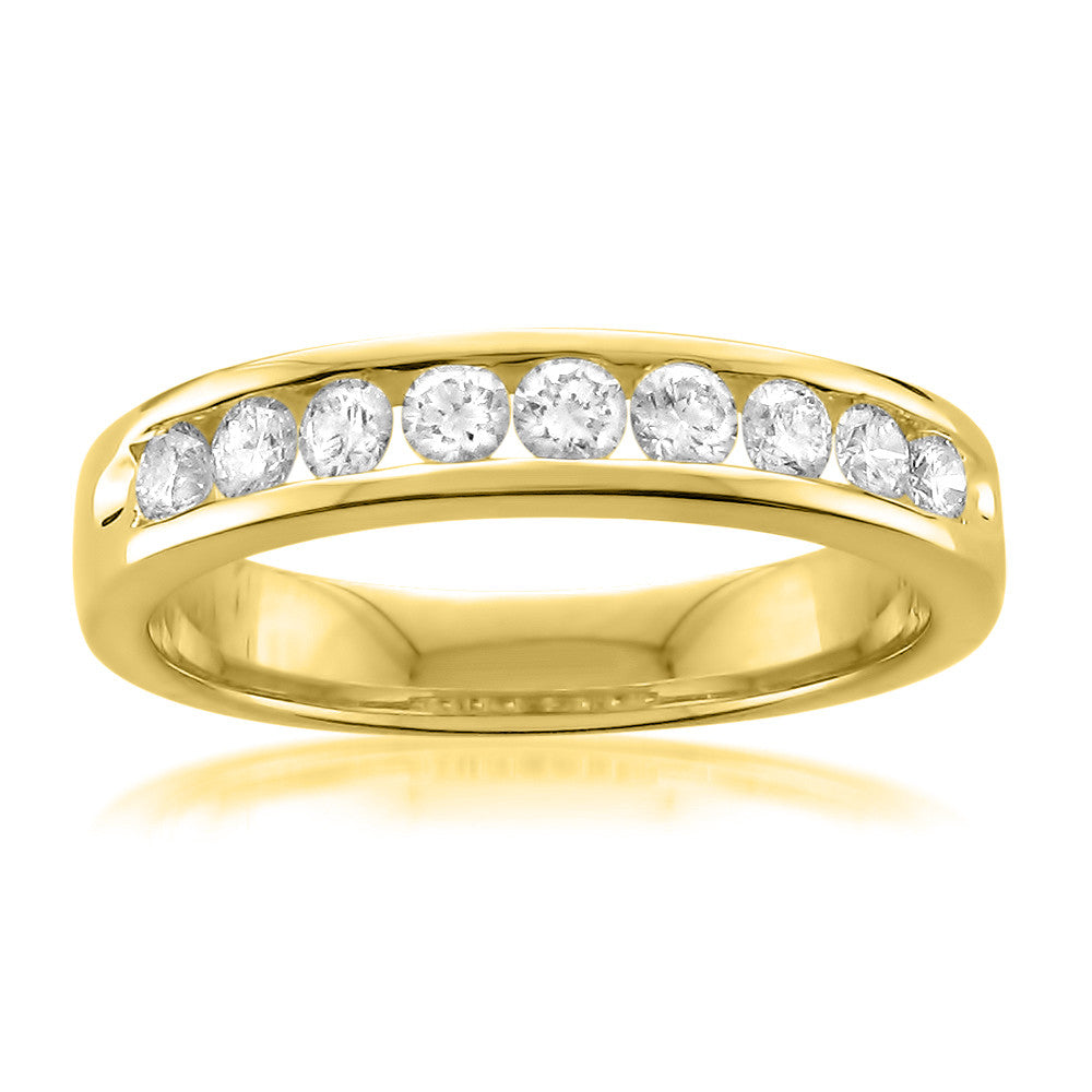 yellow band elizabeth products gold bands ring margaret diamond single with
