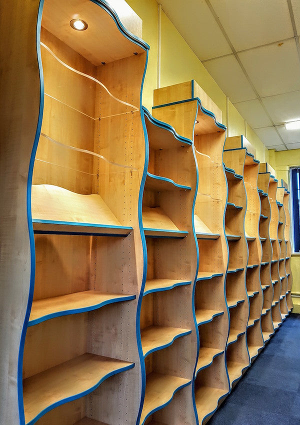 school shelving uk