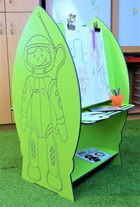 space cadet school art station