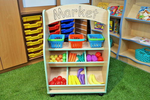 market stall for playgroup or nursery