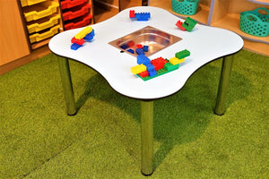 Star Table With Inserts