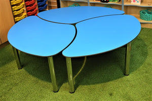 Three Piece Petal Table