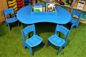 Reading Zone Table & Chair Range