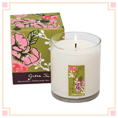 SOY CANDLE: GREEN TEA